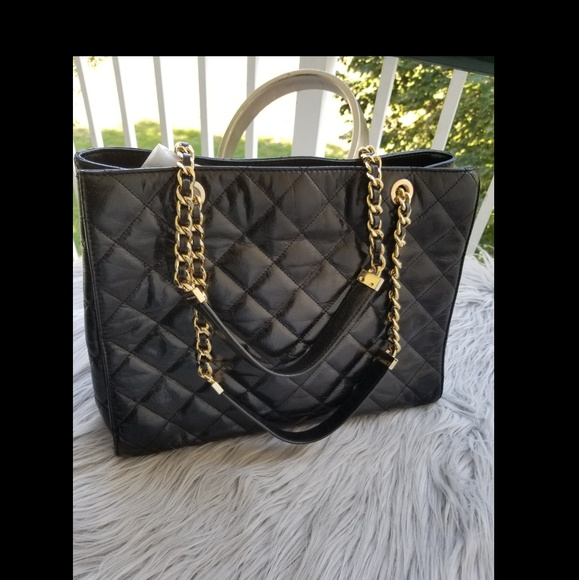 1c2ea12b9cc91c Michael Kors Bags | Like New Authentic Black Quilted Bag | Poshmark